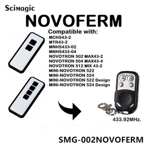 Image 4 - NOVOFERM NOVOTRON 302/304,NOVOFERM MNHS433 02/04 replacement remote control
