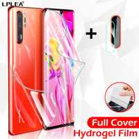 Protector de pantalla para Huawei P30 Pro, película de hidrogel para Huawei Mate 20 Lite, película trasera 30 P Smart 2019