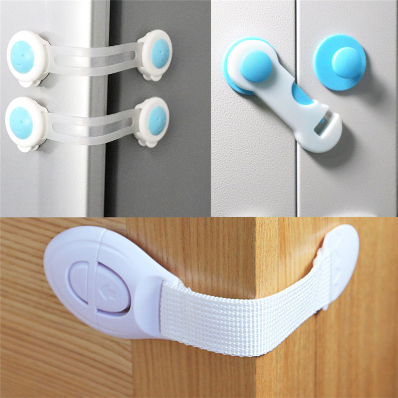 10pcs Children's Cabinet Lock Baby Safety Protection Child Safety Latches Drawers Cupboards Childproof Product