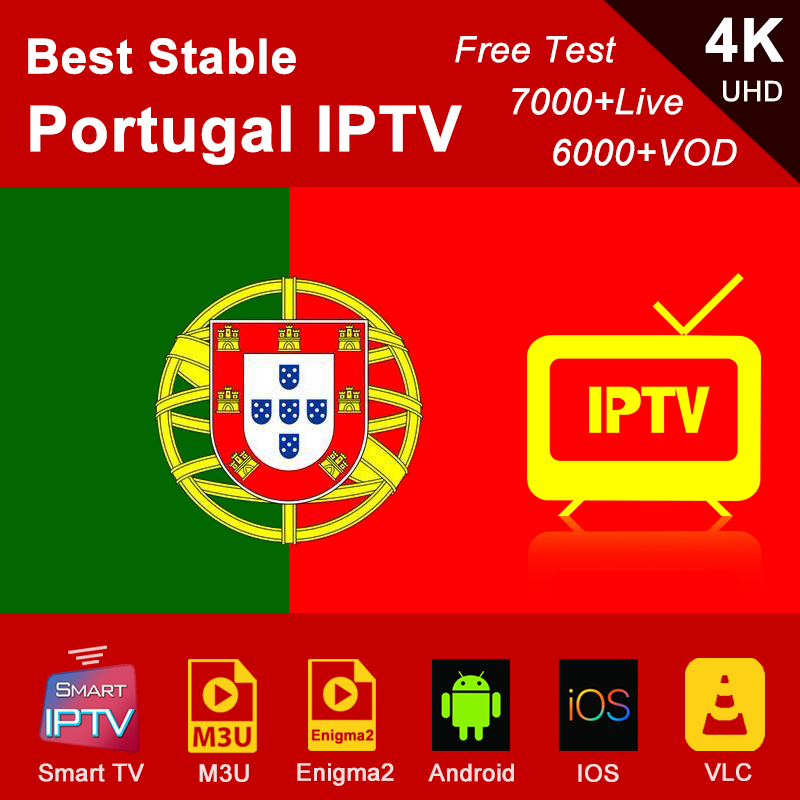 Portugal Iptv Subscription M3u Abonnement Iptv Portuguese Spain France Germany Italy Android Ip Tv Box Enigma2 M3u Smart TV PC