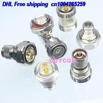 DHL 5sets 6pcs/set Adapter 7/16 DIN TO DIN Type N female F male M Kit for Communication adapter 22cs