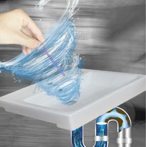 Image 2 - シンク排水洗浄フックシンククリーニングスティック家庭用浴槽トイレ浚渫パイプ浴室キッチン下水道クリーニングツールgyh