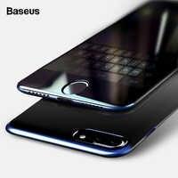 Baseus 2Pcs Protezione Dello Schermo per Il Iphone 7 8 Più di 0.23 Millimetri Anti-Peeping Copertura Completa 3D Protettivo Temperato vetro Flim per Il Iphone 7 8