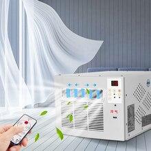 Mobilny Swmall klimatyzator lodówka Mini klimatyzator moskitiera pulpit mikrolodówka Pet chłodzenie