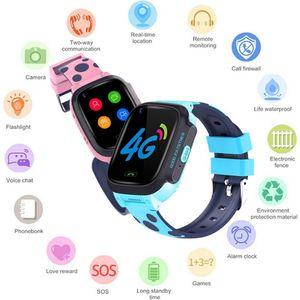 Детские Смарт-часы Y95 с функцией видеозвонка, GPS, Wi-Fi, LBS-трекером, 4G, детские наручные часы, умные часы для мальчиков и девочек, подарки на день ...