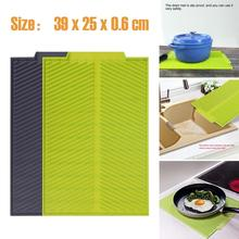 Silicone drain mat water coaster placemat table mat kitchen tool heat resistant non-slip tray home kitchen dishwashing drain mat silicone drain mat water coaster placemat table mat kitchen tool heat resistant non slip tray home kitchen dishwashing drain mat