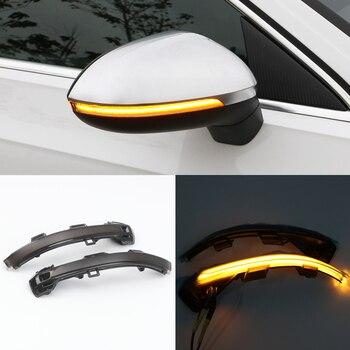 Car Styling Dynamic Turn Signal Light LED Side Mirror Indicator Blinker Light For Volkswagen Passat B8 2017 2018 2019