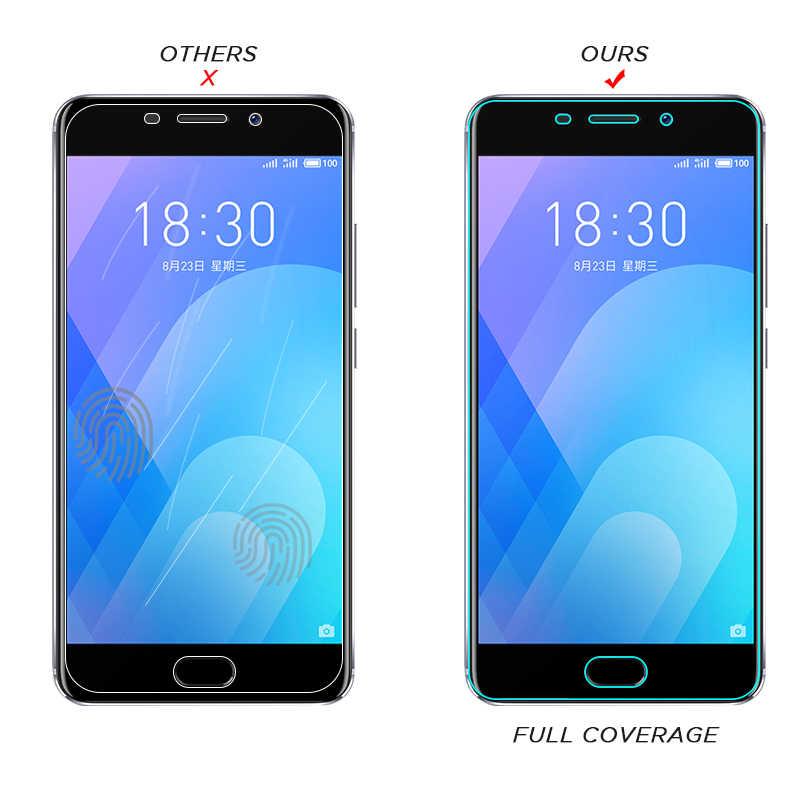 HD pełna pokrywa szkło hartowane dla Meizu uwaga 9 M6 M5 M3 uwaga M6S M5S M5C ochraniacz ekranu folia na Meizu U20 u10 Pro 6 7 Plus