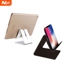 Desktop Halter Tablet Ständer Für ipad 9,7 10,2 10,5 11 inch Rotation ABS Und metall Tablet Ständer sicher Für Samsung xiaomi iphone