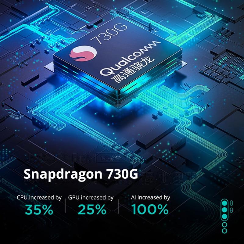 Смартфон с глобальной ПЗУ Xiaomi Mi CC9 Pro, 6 ГБ ОЗУ + 128 Гб ПЗУ, камера 5260 МП, аккумулятор мАч, мобильный телефон Snapdragon730G - 5