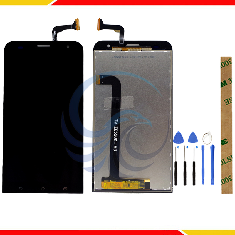 High Quality Touch Screen <font><b>LCD</b></font> Display For ASUS Zenfone 2 Laser Z00LD <font><b>ZE550KL</b></font> <font><b>LCD</b></font> Display Complete Assembly image