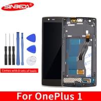 Sinbeda ため oneplus one 液晶画面 A0001 液晶ディスプレイタッチスクリーンデジタイザ oneplus one ディスプレイ -