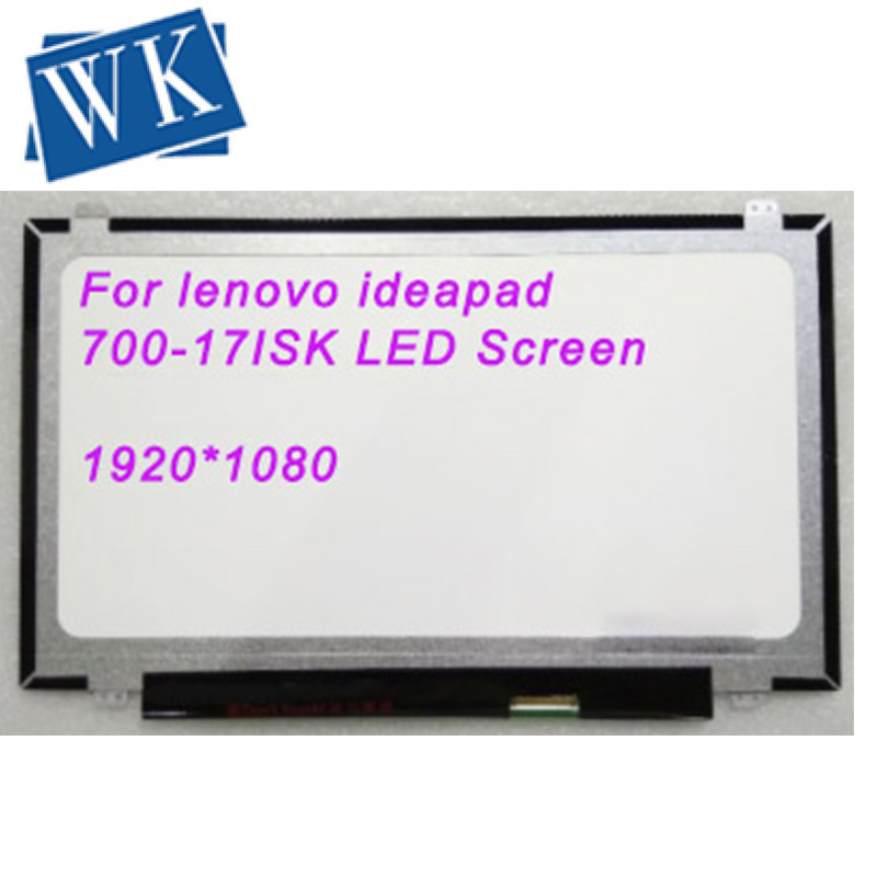 """For lenovo ideapad 700-17ISK Laptop LED Screen Matrix for Laptop 17.3"""" 30Pin Replacement"""