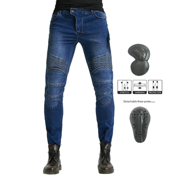 Motorcycle Pants Men Moto Jeans Protective Gear Motocross Pants Riding Touring Motorbike Biker pantalones Trousers for Summer