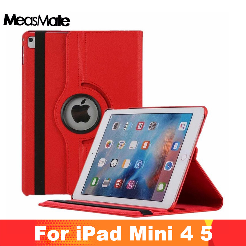 360 Degree Rotation Case For Ipad 7.9 Inch Case For Ipad Mini 4 Case Auto Sleep/Wake