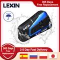 Marke Lexin LX-B4FM für 4 Fahrer Intercom Motorrad Bluetooth Helm Headsets BT Moto Intercomunicador mit FM Radio
