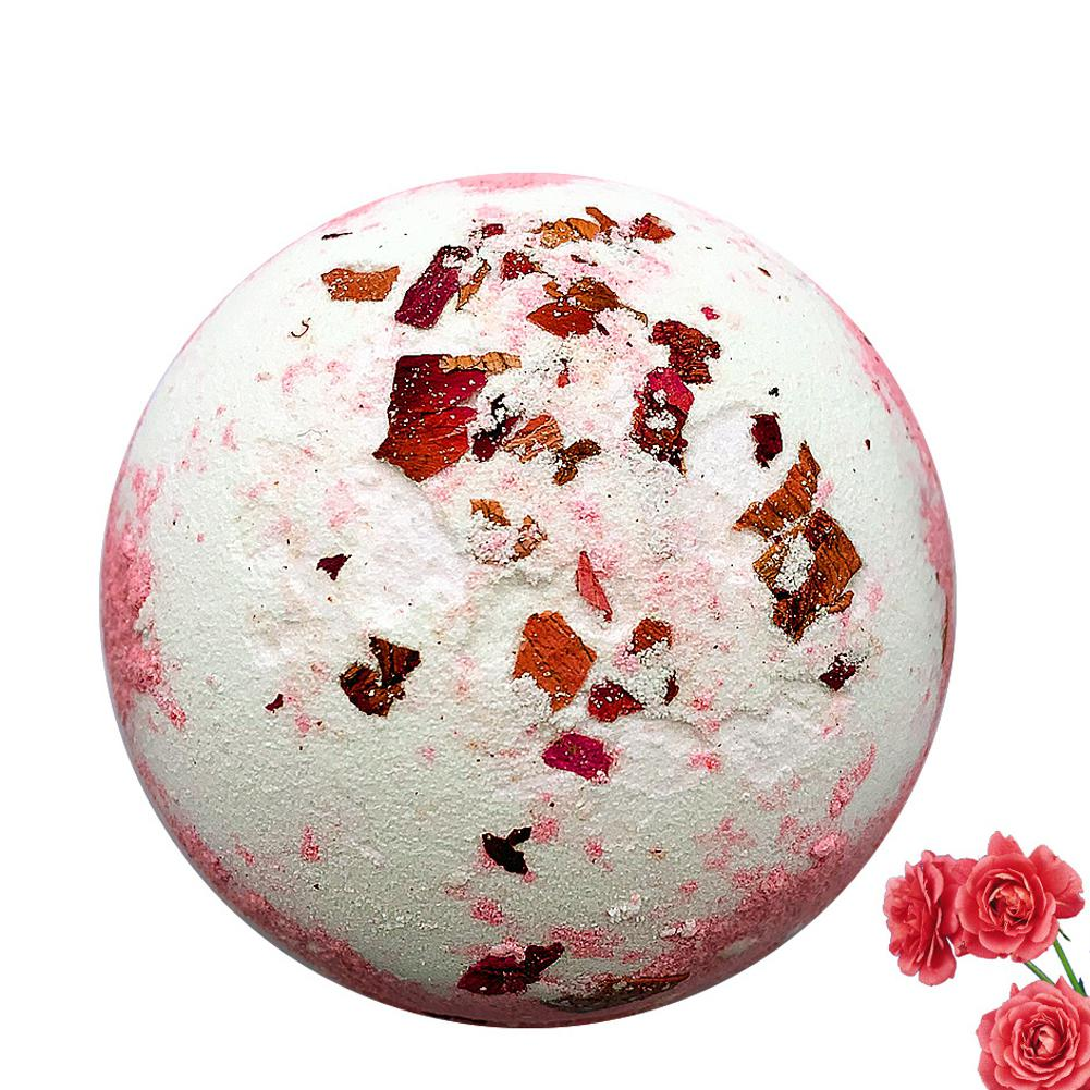 VIBRANT GLAMOUR Hot 1pc 150g Organic Bath Salt Deep Bath Whitening Body Essential Oil Bath Ball Natural Bubble Bath Bombs Ball