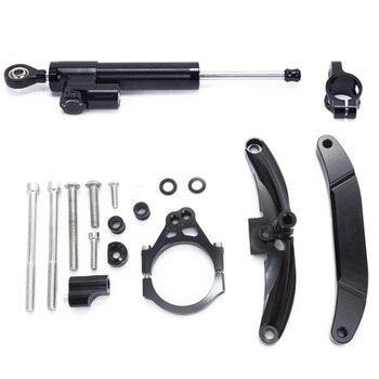 For Yamaha FZ1 FAZER 2006-2015 Motorcycle Aluminium Steering Stabilizer Damper Mounting Bracket Kit
