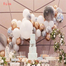10pcs 12inch Metallic Inflatable Balloons Pearly Chrome Alloy Colors Photograph Wedding Birthday Event Party Decoration
