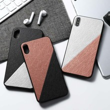 Cloth Texture For VIVO Nex 3 IQOO NEO V11 V11i V15 Pro Case Fashion Soft Back Cover Cases Capa For Vivo Y17 Y83 Y91 Y93 Y97 Case for vivo v11 v11 pro v11i z3i y95 y91 y93 armor case hybrid silicone back y97 y91i v15 covers case for vivo cover fundas