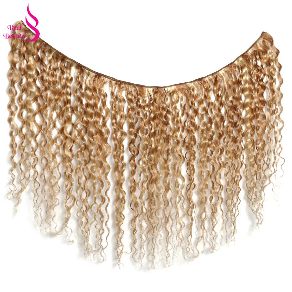 Water Wave Ombre Hair Bundles P27/613 Highlight    2