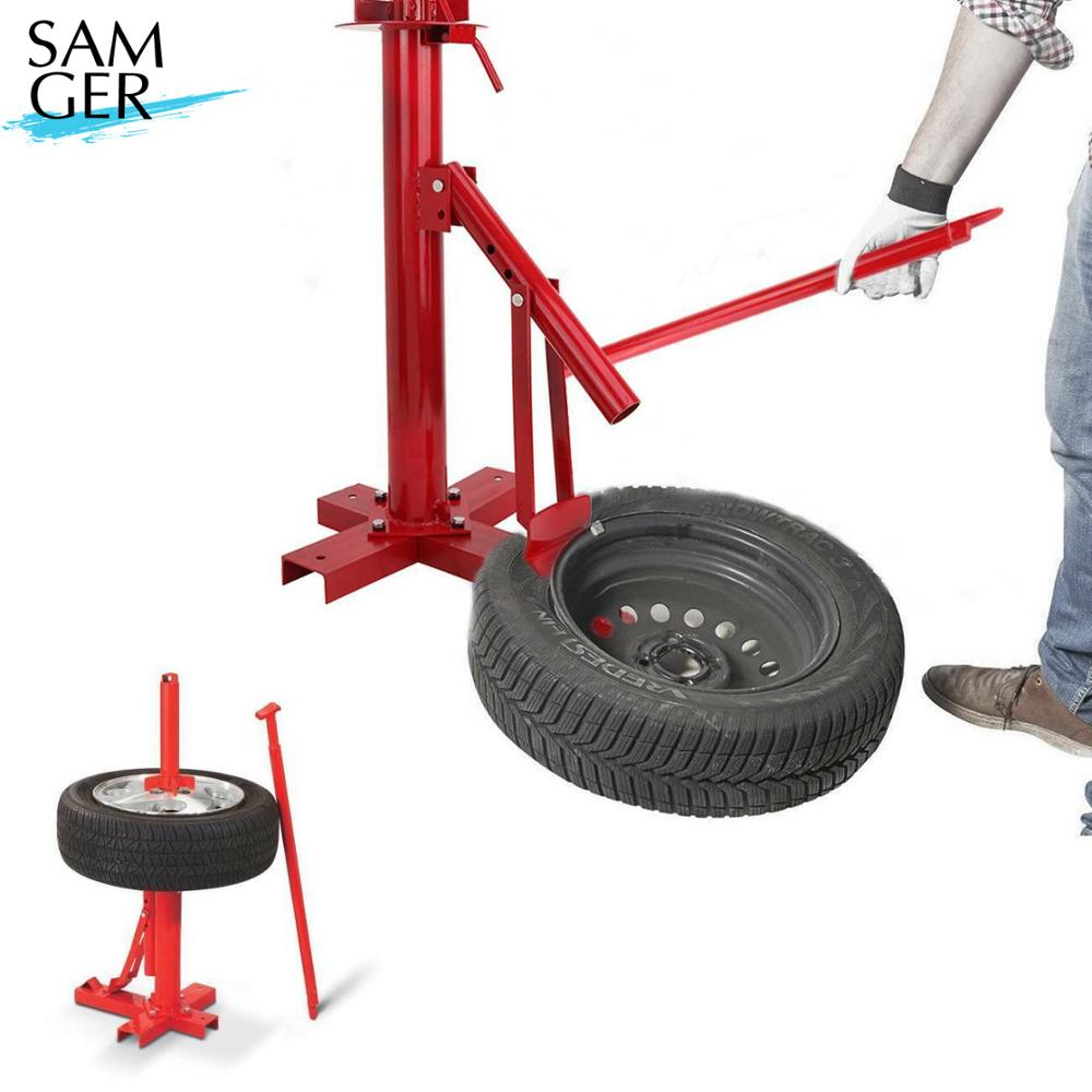Samger Car Tire Changer Demount Tire Changer Dismantling Machine Vacuum Manual Portable Tire Changing Machine Tool 8-19inch