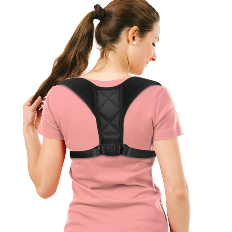VIPDropShiPAdjustable Men/women Back Posture Corrector Clavicle Spine Shoulder Lumbar Brace Support Belt Correction