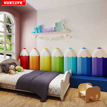 kids room anti-collision soft bag Kindergarten cartoon personality anti-collision wall