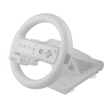 Multi angle เกมแข่งรถพวงมาลัยสำหรับ Nintendo Wii คอนโซล Controller ล้อ Handle Grip