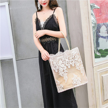 Canvas Tote Print Lady Bag Casual Beach Tote Eco Shopping Bag Daily Items Collapsible Canvas Shoulder Bag Customizable canvas ethnic print tote bag