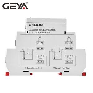 Image 2 - GEYA GRL8 Liquid Level Control Relay Electronic Liquid Level Controller 10A  AC/DC24V 240V