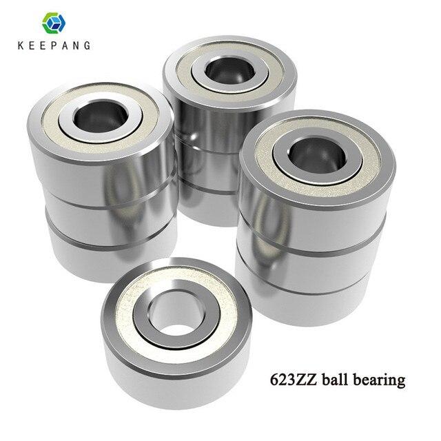 20pcs 623zz 624zz 625zz 626zz 635zz 608zz 688zz Ball Bearing Chrome Steel Ball Bearings 3D Printer Parts bearing Pulley Wheel 3