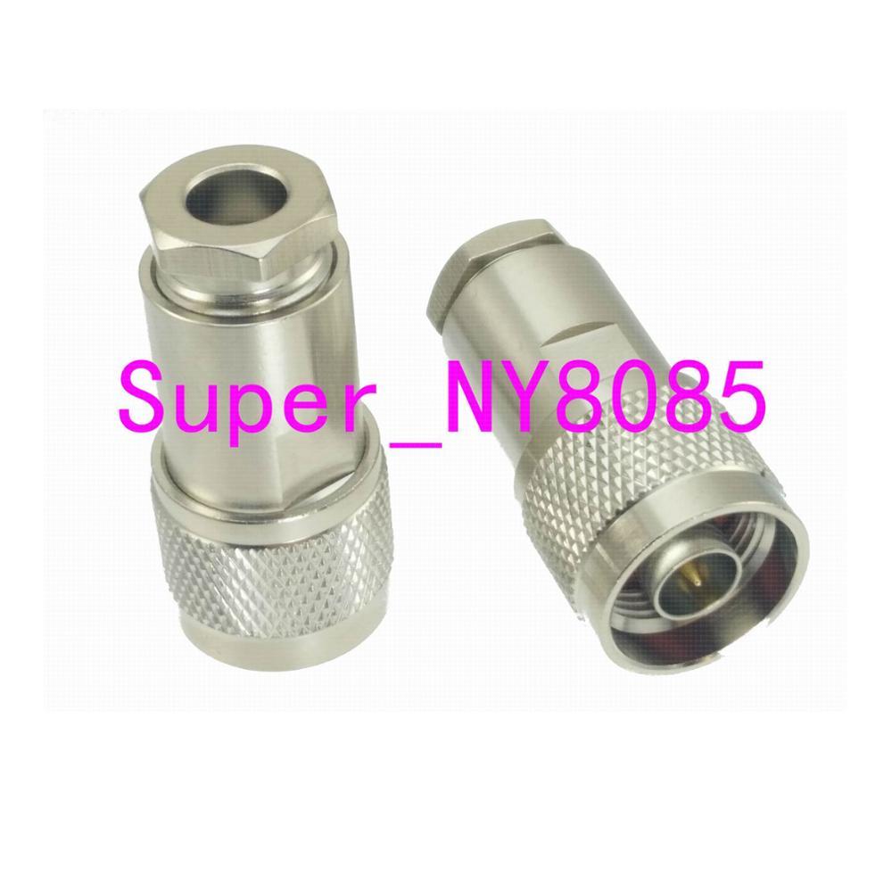 1 шт. Разъем N штекер зажим RG5 RG6 5D-FB LMR300 кабель RF коаксиальный Прямой