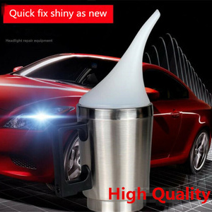 Набор для восстановления и полировки автомобильных фар, Ремонтный комплект для восстановления автомобильных фар, чашка для жидкого распыл...