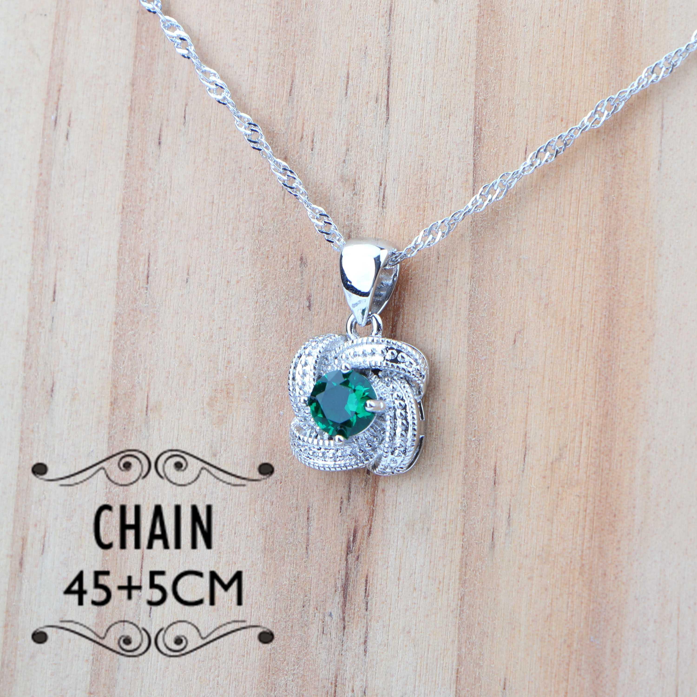 Зеленый цирконий, свадебное серебро 925, ювелирные наборы, свадебный костюм, ювелирные изделия для женщин, кулон, серьги, кольцо, браслет, ожерелье, набор