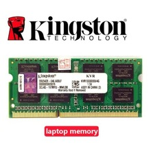 Kingston-pc portable avec RAM ECC, 1 go, 2 go, 4 go, 1 go, 2 go, 4 go, PC2 PC3 DDR3, 667, 1066, 1333, 1600 MHZ, 5300S, 6400S, mémoire ECC