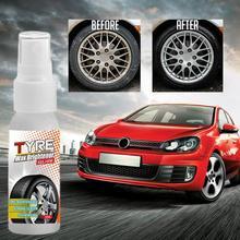 Coat Wax-Brightener Shine Tire Cleaning-Spray L8Q6 1PC Foam Tire-Decontamination Hard