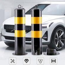 Настраиваемая безопасная колонна, стальная труба, предупреждающий барьер, колонна изоляции, стационарная колонна, дорожное заграждение, дорожное заграждение, парковочная колонна