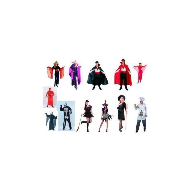 Costume Assortment Adult Halloween 12 Mode Toy Store Articles Created Handbook