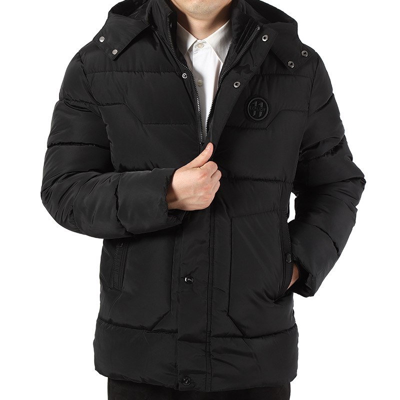 Brief Paragraph With Thick Cotton-padded Clothes To Keep Warm In Winter 2019 Men Hooded Cotton-padded Jacket