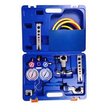 VALUE Combination Tool Set Table group/cutter/tube reamer/tricolor tube/chamferer/tool box VTB-5B