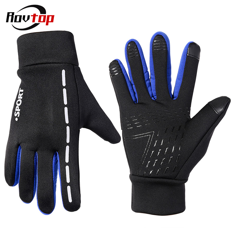 Motorcycle Gloves Men Winter Anti-Slip Motorbike Motocross Riding Gloves Motorcycle Windproof Touchscreen Full Finger Guantes Z2