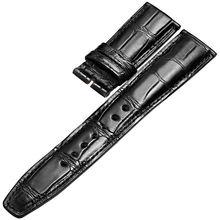 Ремешок из крокодиловой кожи с узелковым узором кожаный мужской