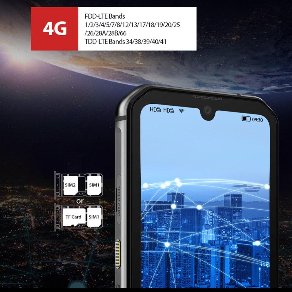Image 4 - Blackview BV9900 Helio P90 Octa Core 8GB 256GB 5.84 FHD+ IP68 Waterproof Rugged Smartphone 4380mAh 48MP Quad Rear Camera PhoneCellphones   -