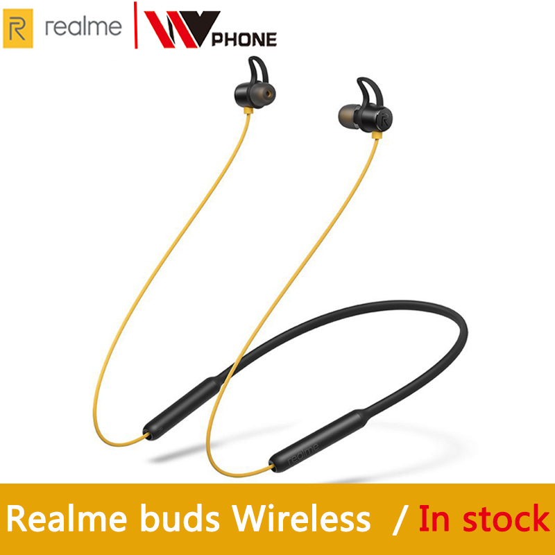 OPPO Realme Buds Wireless Bluetooth 5.0 Magnetic Connection Bass Boost Driver 12 Hours Battery Life For Realme X X2 X2 Pro