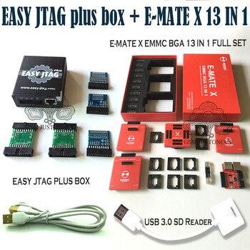 2020  Newest Original z3x - Easy jtag plus box + E-MATE X 13 IN 1 / E-MATE X Emate box EMMC BGA 13 IN 1+ Free Shipping цена 2017