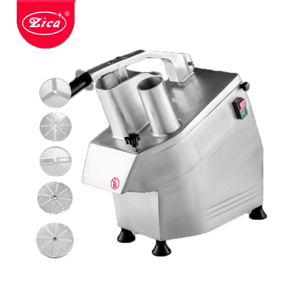 Vegetable Cutter Machine Electric Potato Chips Slicer Friut Cheese Cutter With 5 Discs Blades For Commercial Zica ZLC-300