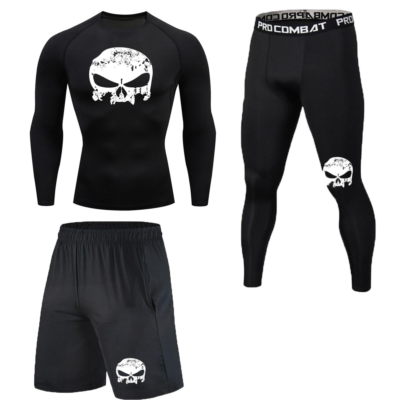 Nova Roupa De Compressão Exercício Terno Esportes Terno Masculino Corrida Rápida Corrida Esporte Treinamento De Ginástica Dress