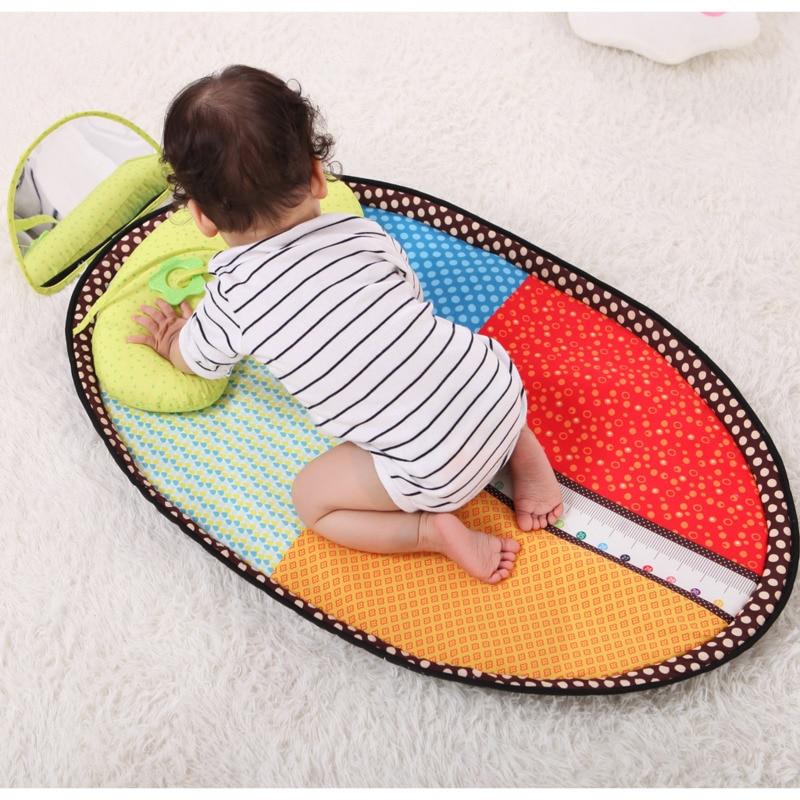 Jouets pour enfants petite enfance hauteur jeu tapis bébé défense perméable urinaire rampe Pad speelkleed boxkleed doux