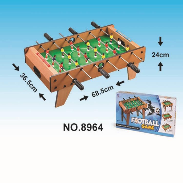 Brinquedo educacional para crianças esportes casuais pai e criança interativo futebol (madeira) brinquedo de esportes interior térmico - 2